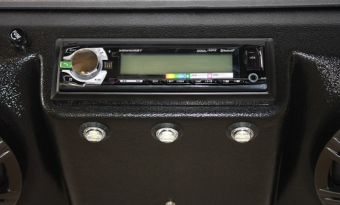 Deluxe Overhead Sound System fits Kawasaki Mule
