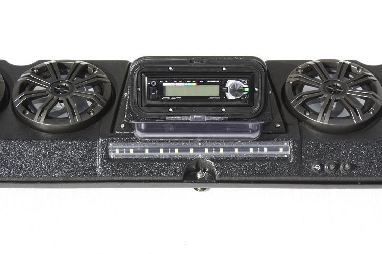 4 Speaker Stereo System For Polaris General