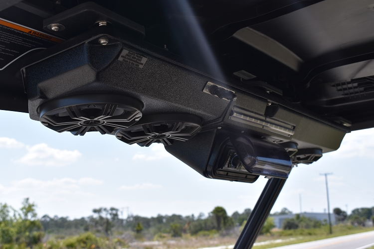Inline Quad Pod For Can Am Defender With Kicker Speakers