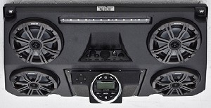 Quad Pod with BOSS Water-Proof Marine Grade Radio and Kicker speakers